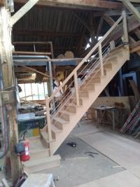 Pose d'un escalier par votre menuisier à Criel sur mer
